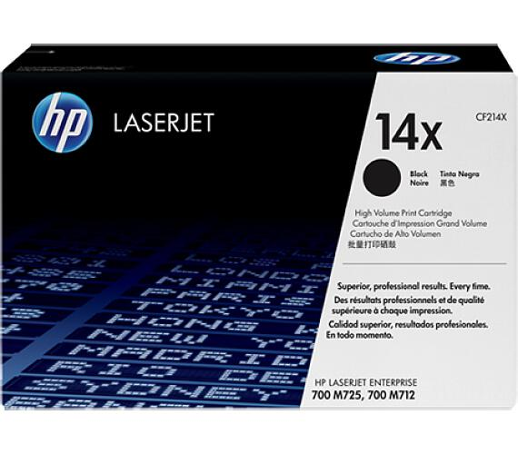 HP 14X - černý Contract Toner