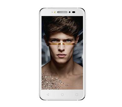 Mobilní telefon ALCATEL SHINE LITE 5080X - Full White - stříbrný