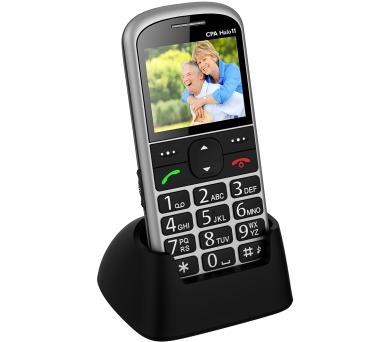 Mobilní telefon CPA Halo 11 Senior - stříbrný
