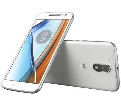 Lenovo Moto G4 Dual SIM - bílý