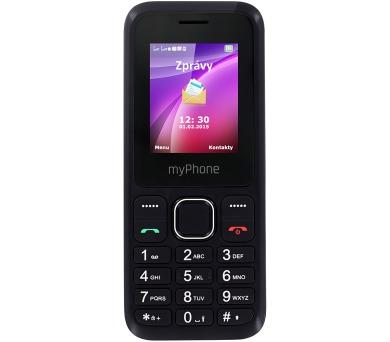 myPhone 3300 Dual SIM - černý