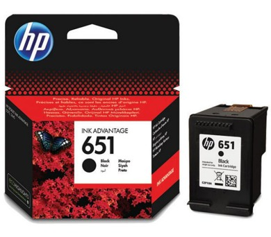 C2P10AE černý INK No.651 HP Hewlett Packard