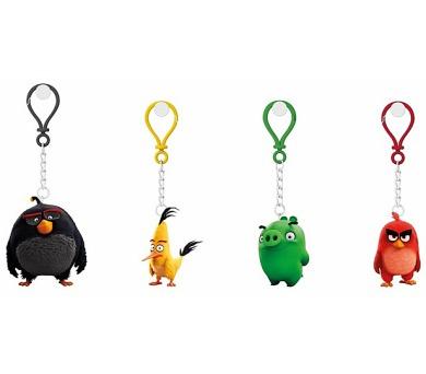 Angry Birds: 3D figurka 4-4,8 cm s nylon přívěskem