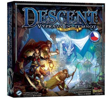 Descent: Výprava do temnot - druhá edice + DOPRAVA ZDARMA