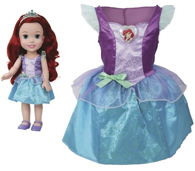 Disney princezna a dětské šaty - Ariel + DOPRAVA ZDARMA