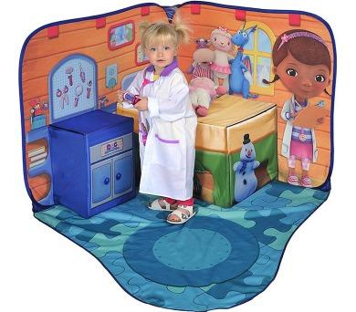 Doktorka plyšáková - hrací koutek