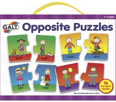 Puzzle – anglické protiklady 2.