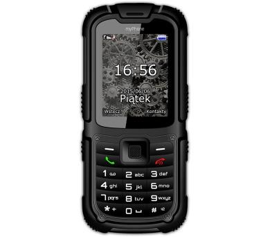 myPhone HAMMER 2 Dual SIM - černý