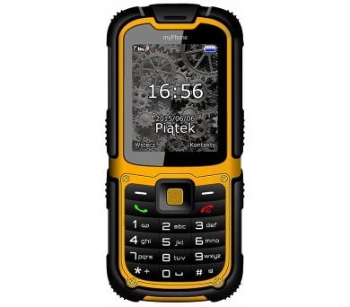 myPhone HAMMER 2 Dual SIM - černý/oranžový