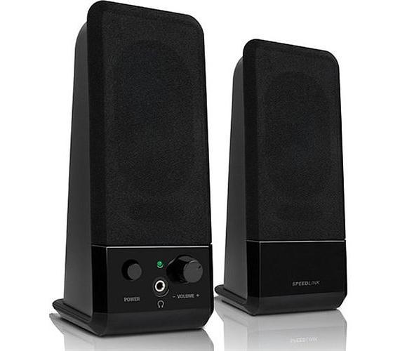 Reproduktory Speedlink EVENT Stereo Speakers black