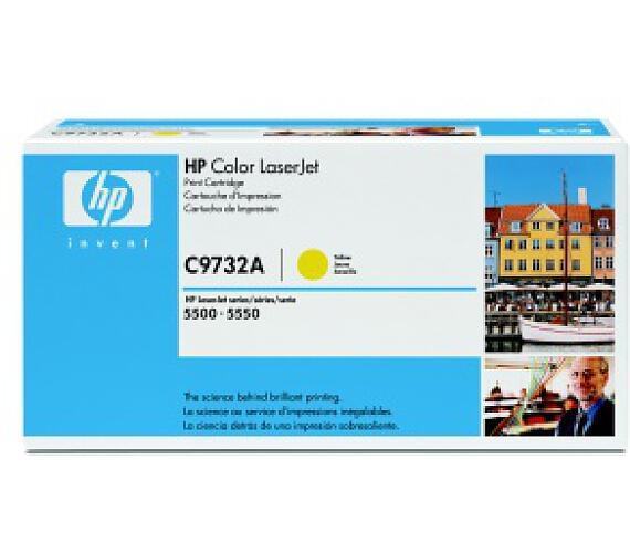 HP Color LaserJet žlutý toner + DOPRAVA ZDARMA