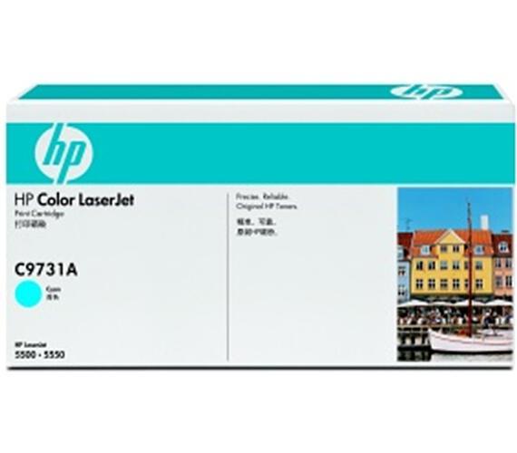 HP Color LaserJet azurový toner + DOPRAVA ZDARMA