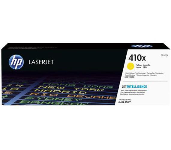 HP 410X - žlutý Contract Toner