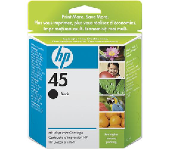 HP no. 45 - černá ink. kazeta velká + DOPRAVA ZDARMA