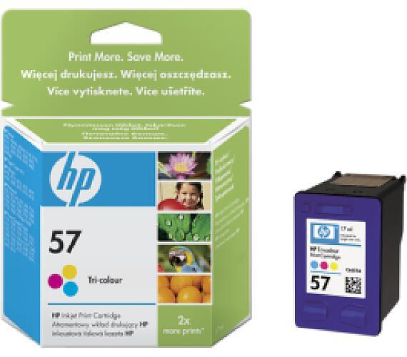 HP no. 57 - 3barevná ink. kazeta