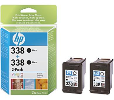 HP no. 338 - černá ink. kazeta