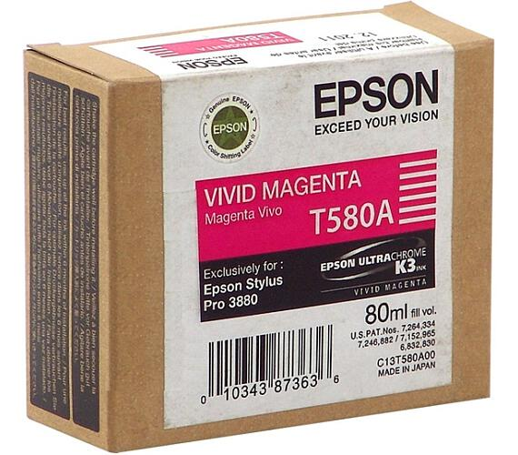Epson T580A00 Vivid Magenta (80 ml) + DOPRAVA ZDARMA