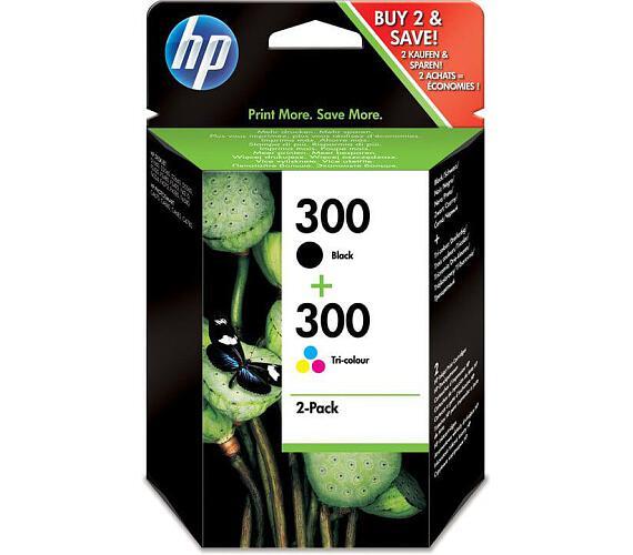 HP 300 - combo pack (černá