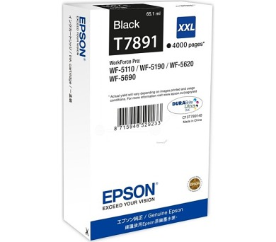 WF-5xxx Series Ink Cartridge XXL Black T7891
