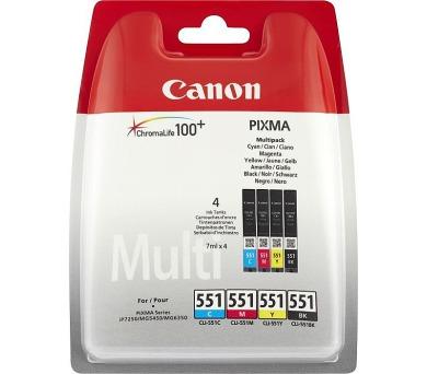 Canon PGI-550 + CLI-551 C/M/Y/BK/GY Multi pack + DOPRAVA ZDARMA