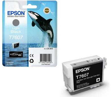 Epson T7607 Ink Cartridge Light Black