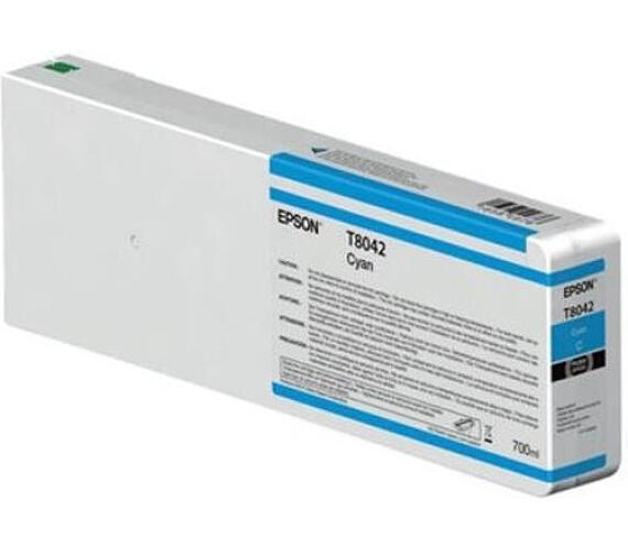 Epson Cyan T804200 UltraChrome HDX/HD 700ml (C13T804200) + DOPRAVA ZDARMA
