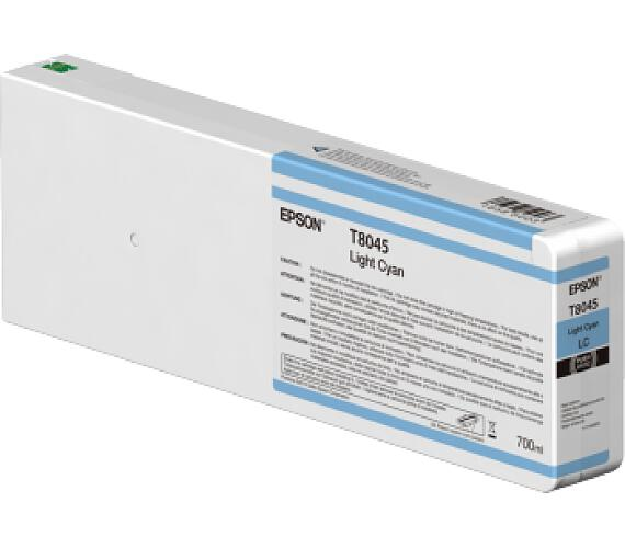 Epson Light Cyan T804500 UltraChrome HDX/HD 700ml (C13T804500) + DOPRAVA ZDARMA