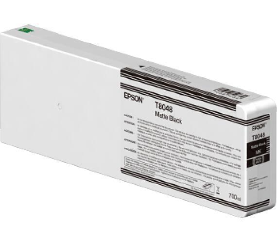 Epson Matte Black T804800 UltraChrome HDX/HD 700ml (C13T804800) + DOPRAVA ZDARMA