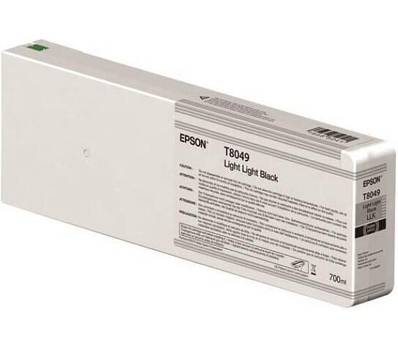 Epson Singlepack Light Light Black T804900 UltraChrome HDX/HD 700ml (C13T804900) + DOPRAVA ZDARMA