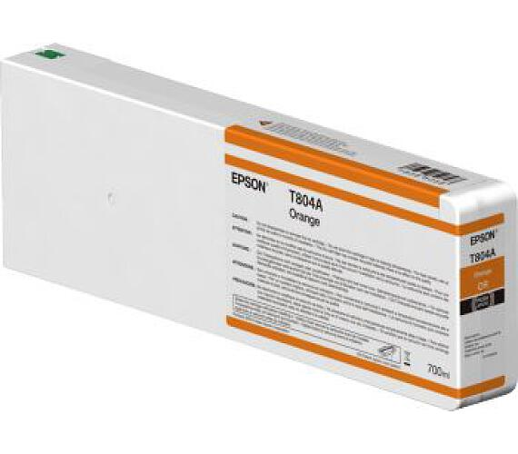 Epson Orange T804A00 UltraChrome HDX 700ml (C13T804A00) + DOPRAVA ZDARMA