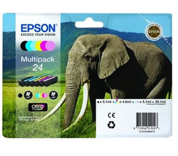 Epson Multipack 6-colours 24 Claria Photo HD Ink + DOPRAVA ZDARMA