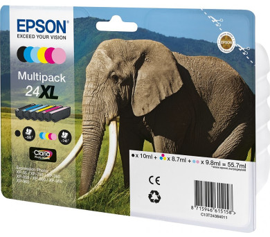 Epson Multipack 6-colours 24XL Claria Photo HD Ink (C13T24384011) + DOPRAVA ZDARMA
