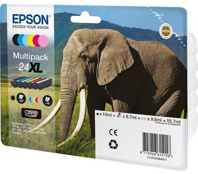 Epson Multipack 6-colours 24XL Claria Photo HD Ink + DOPRAVA ZDARMA