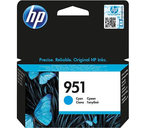 HP 951 azurová inkoustová kazeta