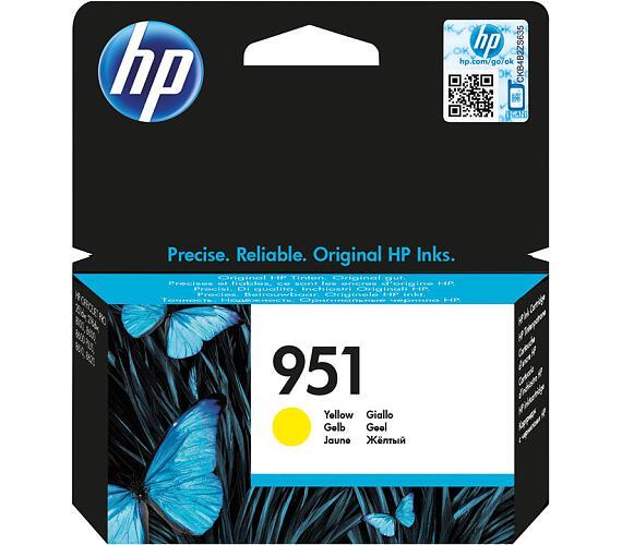 HP 951 žlutá inkoustová kazeta