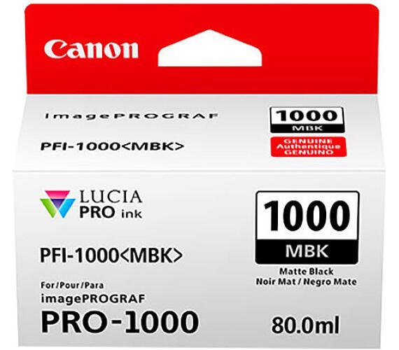 Canon PFI-1000 MBK + DOPRAVA ZDARMA