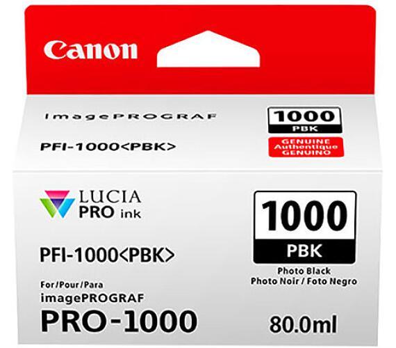 Canon PFI-1000 PBK + DOPRAVA ZDARMA