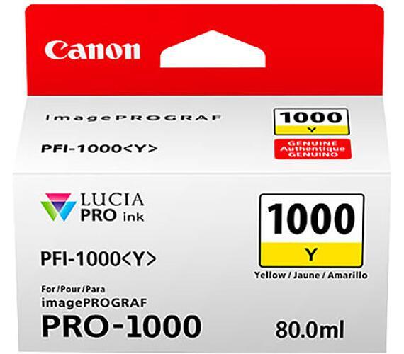 Canon PFI-1000 Y + DOPRAVA ZDARMA