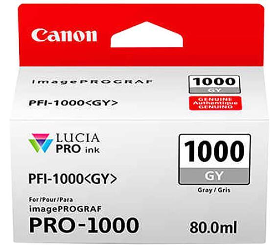 Canon PFI-1000 GY + DOPRAVA ZDARMA