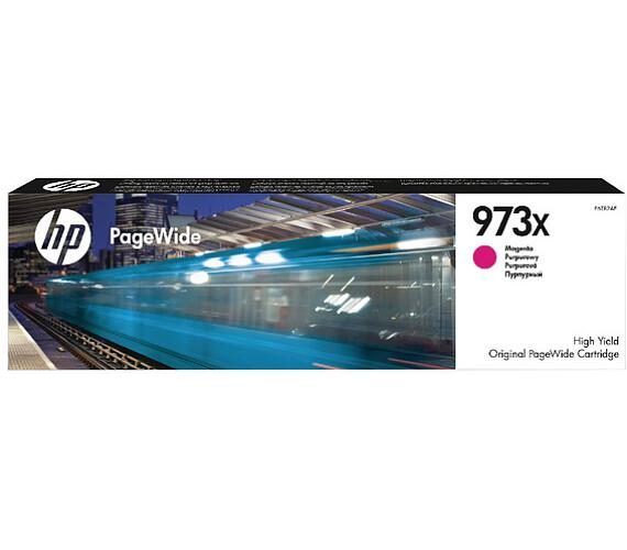 HP 973X purpurová inkoustová kazeta + DOPRAVA ZDARMA