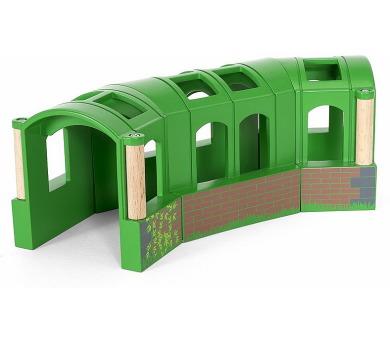 Zahnutý tunel BRIO