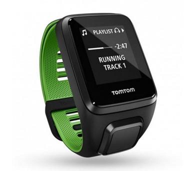 TomTom Runner 3 Cardio + Music + Bluetooth sluchátka (L)