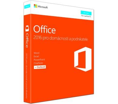 Office 2016 pro domácnosti a podnikatele Eng (T5D-02826)