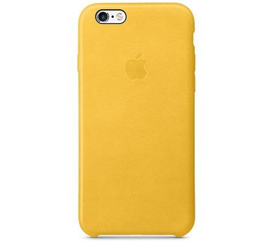 iPhone 6s Leather Case - Marigold