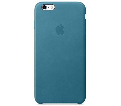 iPhone 6s Plus Leather Case - Marine Blue (MM362ZM/A)