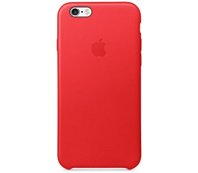 iPhone 6S Leather Case (PRODUCT) RED (MKXX2ZM/A)