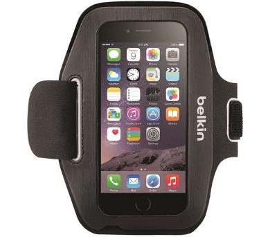BELKIN pouzdro SPORT-FIT Armband iPhone 6/6s,černé/fuchsiové