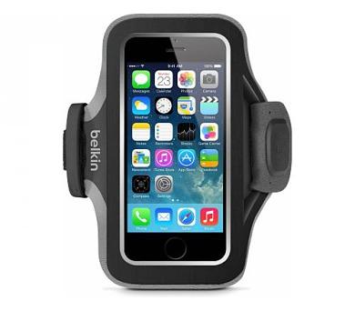 BELKIN pouzdro SLIM-FIT PLUS Armband iPhone 6/6s,černé + DOPRAVA ZDARMA