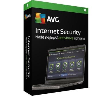 Prodl. AVG Internet Security 2016 + DOPRAVA ZDARMA