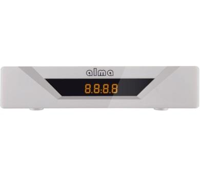 ALMA DVB-T2 HD přijímač 2781 bílý + DOPRAVA ZDARMA